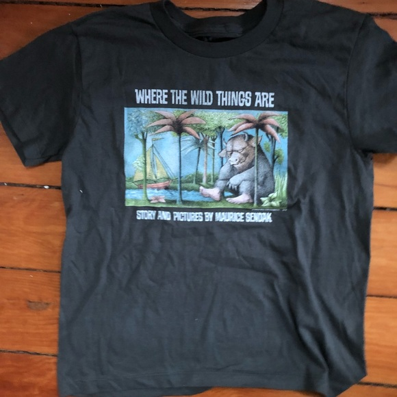 c1bc1dcf out of print Shirts & Tops   Where The Wild Things Are Tee Size 10 ...